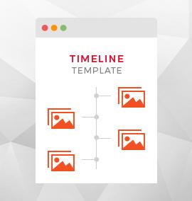 Timeline Blog Template