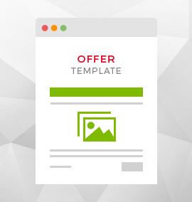 Offer Blog Template