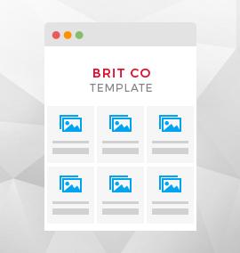 Brit Co Blog Template