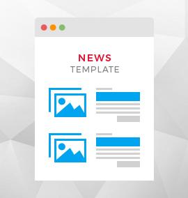 News Blog Template