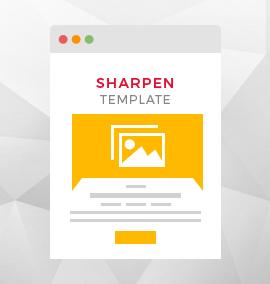 Sharpen Blog Template
