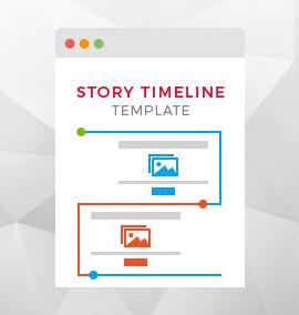Story Timeline Blog Template