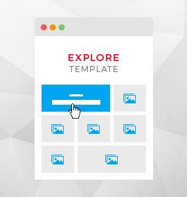 Explore Grid Blog Template