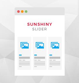 Sunshiny Slider Template