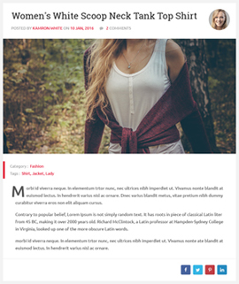 Nicy Blog Template