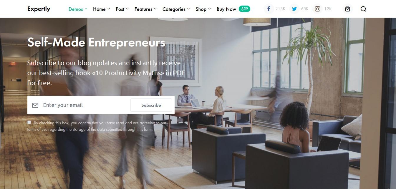 Expertly Self Made Entrepreneurs