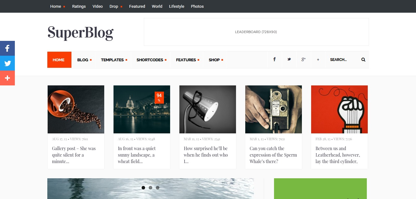 SuperBlog Just another WordPress site