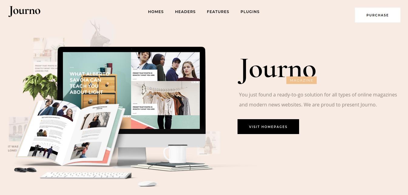 Journo - A Creative Magazine and Blog Theme