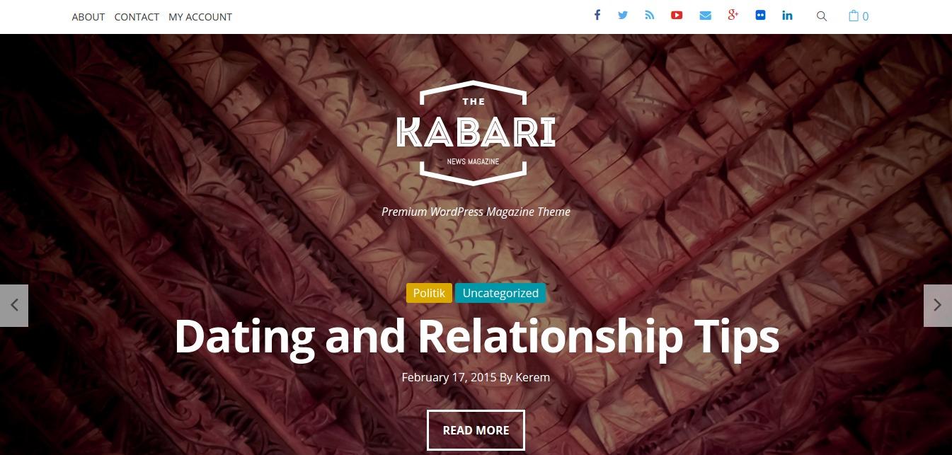 Kabari – Premium WordPress Magazine Theme
