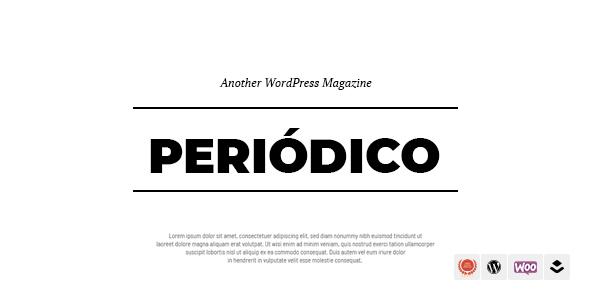 Periodico - A Responsive WordPress Blog Theme