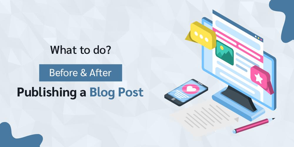 Publishing A Blog Post